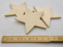 4197 Stern aus Sperrholz