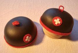 2220 Sennenhut (Chapeau d'alpage, d'armailli) en cuir
