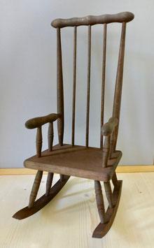 2452 Chaise berçante teintée