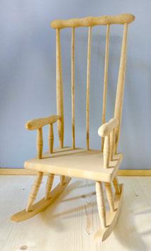 2528 Chaise berçante nature