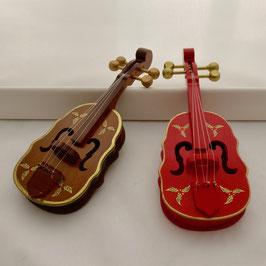 2546 Violine stilisiert, braun oder rot