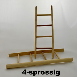 Holzleiter mini, 4-8-sprossig