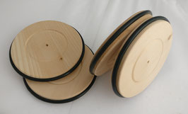 4201 Roues en bois avec pneu Ø = 120mm