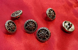 2931-10 ou 2931-13 Bouton traditionnel avec Edelweiss