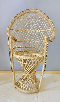 2526 Chaise en osier