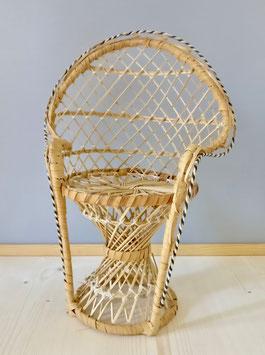 4263 Chaise en osier