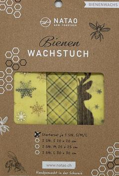 Bienenwachstuch Starterset  06, Hirsch