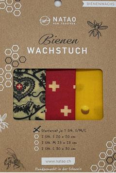 Bienenwachstuch Starterset Swiss-Edition 01