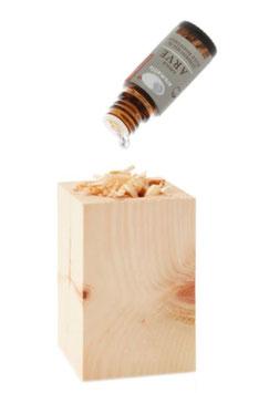 ARVE Quader mit äth. Öl und Späne