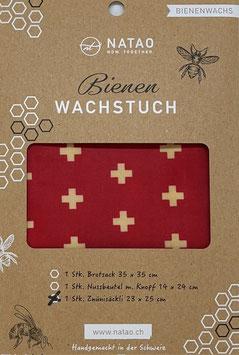 Bienenwachstuch Znünisäckli, SWISS-Edition 07