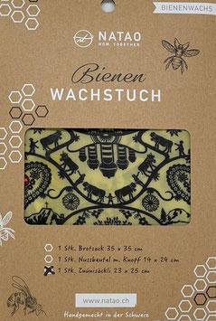 Bienenwachstuch Znünisäckli, SWISS-Edition 08