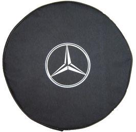 Couvre-roue avec logo Mercedes