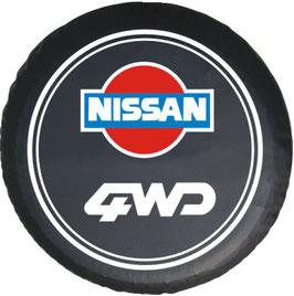 Couvre-roue avec marquage Nissan