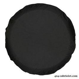 Couvre-roue universel noir uni