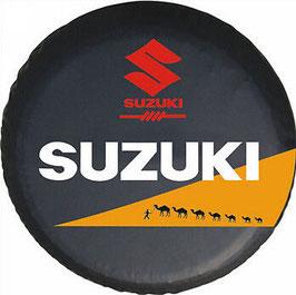 Couvre-roue avec marquage Suzuki raid