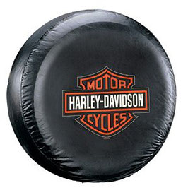 Couvre-roue avec logo Harley Davidson