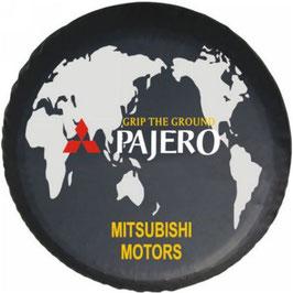 "Couvre-roue avec marquage ""Mitsubishi"""