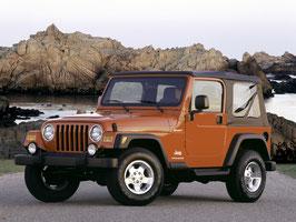 Bâche de Jeep Wrangler TJ (1996 à 2006)