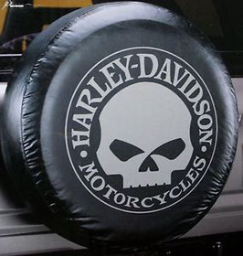 Couvre-roue avec logo Harley Davidson Motorcycles