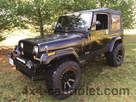 Bâche de Jeep Wrangler YJ (1987 à 1996)