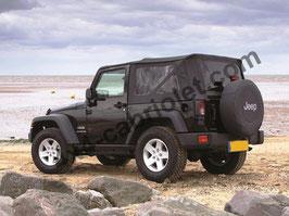 Bâche de Jeep Wrangler JK (2007 à 2018)