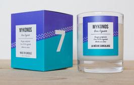 Bougie parfumée N°7 MYKONOS