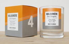 Bougie parfumée N°4 MALOUINIERE