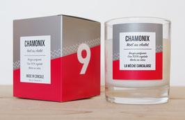 Bougie parfumée N°9 CHAMONIX