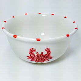 "Mystic Crab Nesting Bowl - Small (7""x3.5"")"