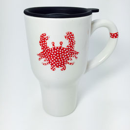 Mystic Crab Travel Mug