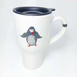 Mystic Crab - Penguin Travel Mug