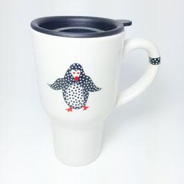 Mystic Crab - Penguin Travel Mug