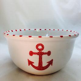 "Mystic Crab - Anchor Nesting Bowl - Small (7""x3.5"")"