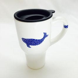 Mystic Crab - Beluga Whale Travel Mug