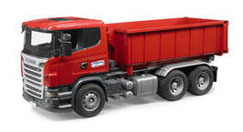 Scania R-Serie LKW mit Abrollcontainer
