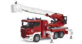 Scania R-Serie Feuerwehrleiterwagen mit Wasserpumpe