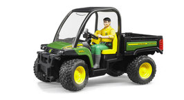 John Deere Gator XUV 855D mit Fahrer
