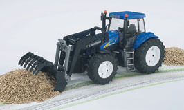 New Holland T8040 mit Frontlader