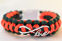 "Armband ""Endless Love"" dreifarbig"
