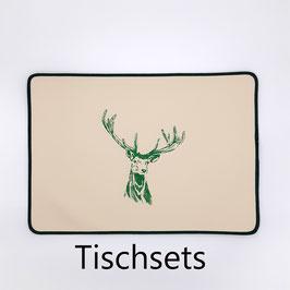 """Tischset """"Hirsch"""""""