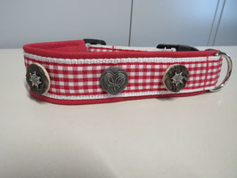 Trachtenhalsband  B 4cm / L 40-43cm