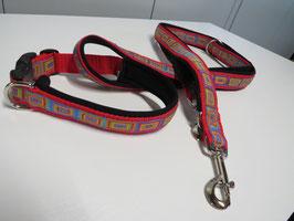 Halsband  und Führleine