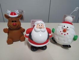 Weihnachtsspielzeug mit Quietschie