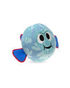Kühlspielzeug Fisch L:22cm B:13cm H:17cm blau