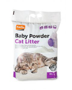 Baby Powder  Cat Litter 15kg