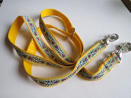 Führleine gelb L 100 cm - 200 cm