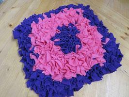 Schnüffelteppich  lila/rosa 33cm x 35cm