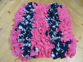 Schnüffelteppich blau/rosa 30cm x 34 cm