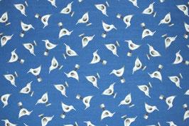 Patchworkstoff mit Seevögeln