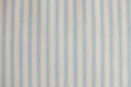 Patchworkstoff mit blauen Streifen